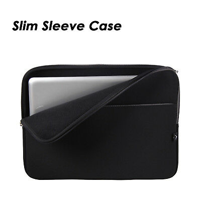 "15"" Soft Laptop Sleeve Case Bag Cover Pouch for 15.4"" 15.6"" HP Dell Acer Macbook"