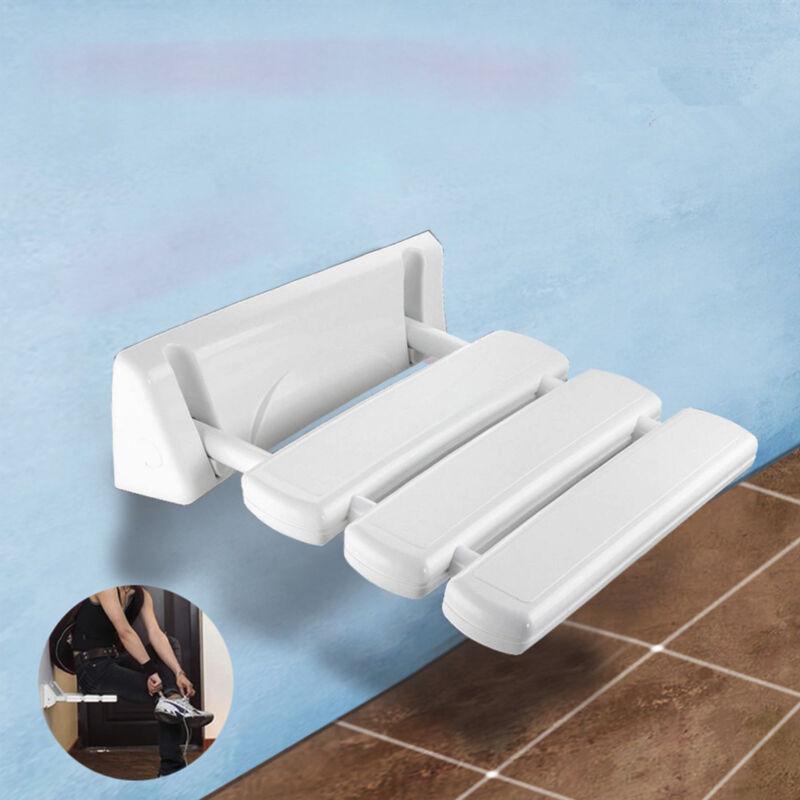 Klappbarer Duschsitz Zur Wandmontage Dusch Klappsitz Dusch Hocker Duschhilfe AL