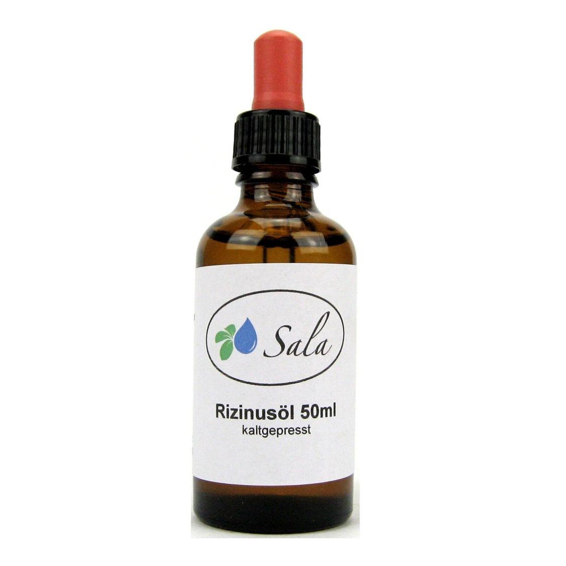 (9,98 EUR/100 ml) Sala Rizinusöl kaltgepresst für dichte Wimpern Augenbrauen 50
