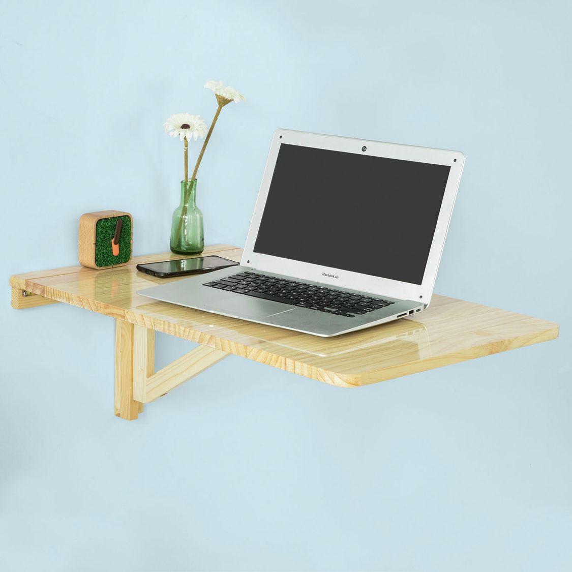 SoBuy® Wandklapptisch,Küchentisch,Esstisch,Wandtisch,ohne Stuhl,FWT04-N