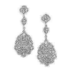Bridal Vintage Chandelier Earrings