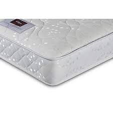 Brand New Three Quarter Size Small Double Airsprung Memory Foam Mattress Can Deliver