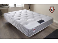 Single Double Memory Foam Mattress Sided Extra Firm Reverse Sides
