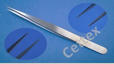 Splitter Pinzette, Splitterpinzette, lang und spitz Top Qualität ca. 12 cm