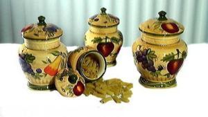 Tuscany Canisters EBay