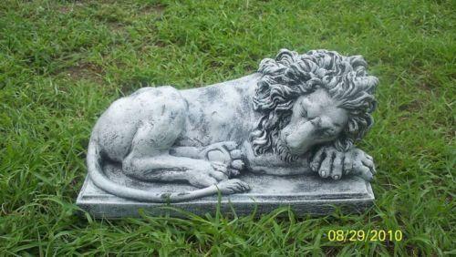 Concrete Lion Molds Ebay