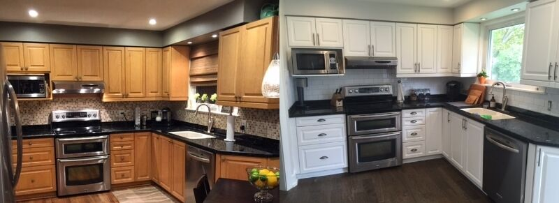 Cabinet Painter Kitchen Cabinet Spray Painting Refinishing