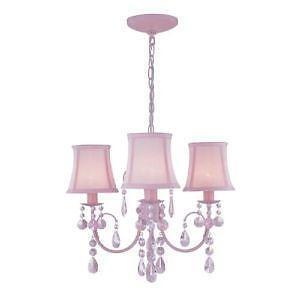 Pink Chandelier Light