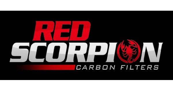 5 Inch Carbon Filter RED SCORPION PRO - Hydroponic Odour Control