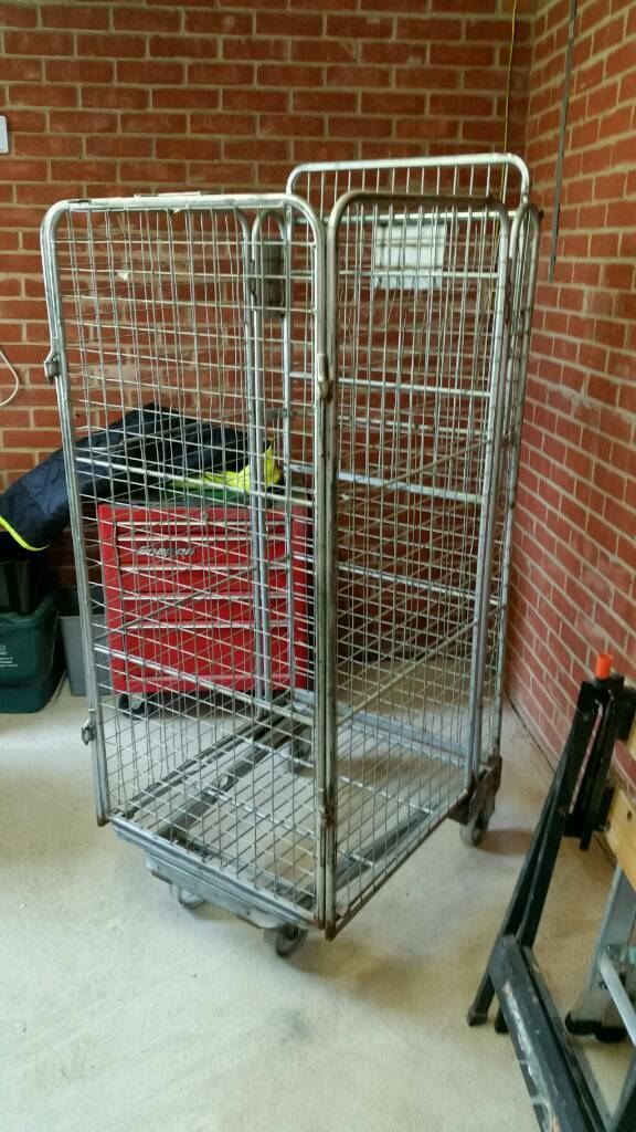 Metal Cage On Wheels In Colchester Essex Gumtree