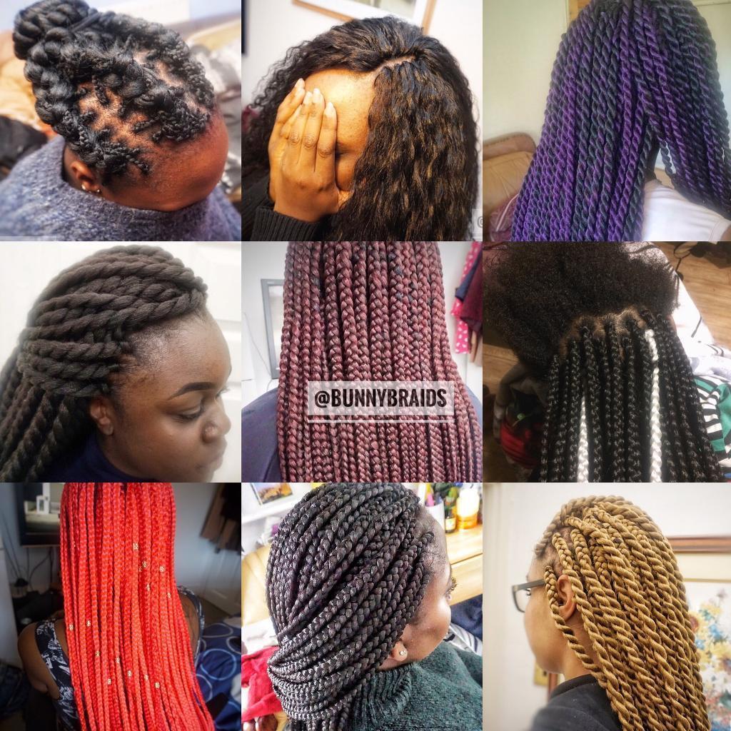 Afro European Hairdresser Box Braids Senegalese