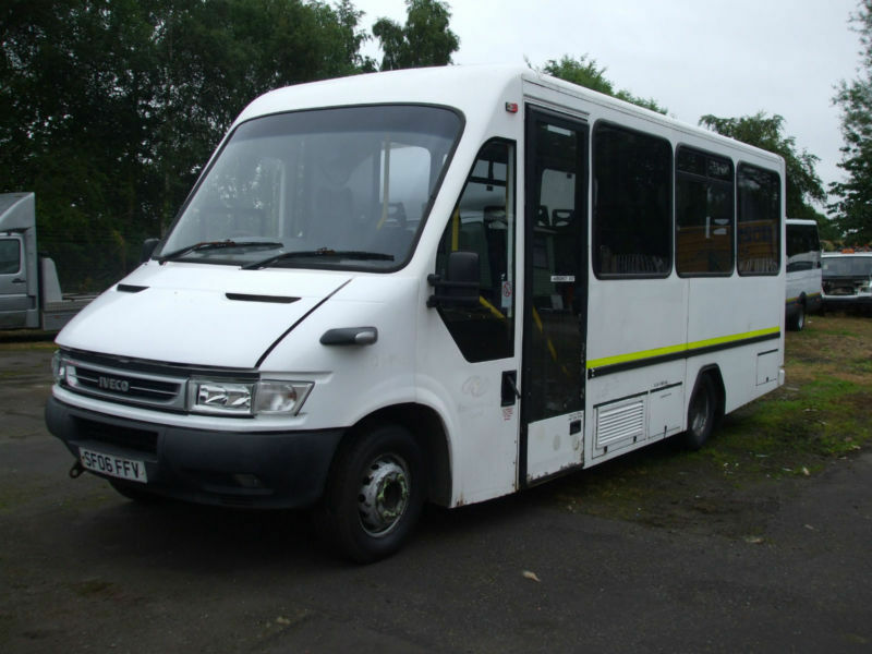 Iveco Daily 7 Seat Iris Mini Bus 3 Liter Diesel Now