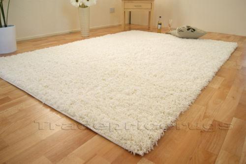 Large White Rug