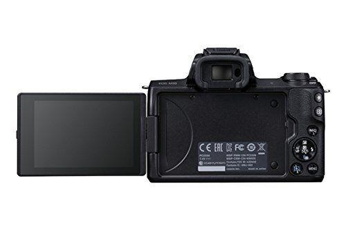 Canon Eos M50 Kompakte Systemkamera - Schwarz