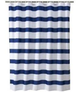 Blue Shower Curtain EBay