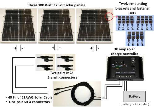 300 Watt Solar Panel   eBay