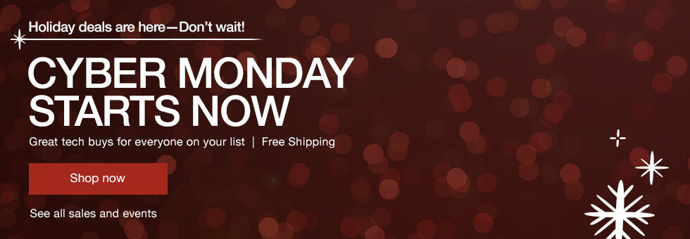 Tech Holiday Deals | Cyber Monday Starts Now
