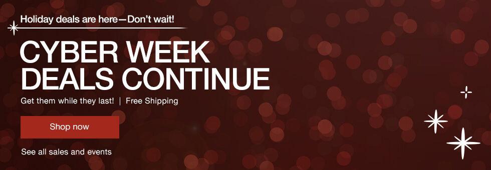 Tech Holiday Deals | Cyber Week Deals Continue
