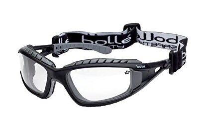 Bolle Schutzbrille Tracker II klar mit regulierbarem Kopfband Gummiband AKTION