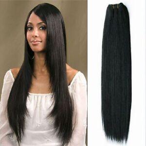 indian remy hair weave grade aaaaa straight or bodywave ebay