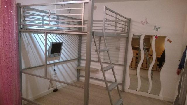 Teenagerstudentadult Double Bed High Sleeper Loft Bed