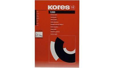 100 Blatt KORES Kohlepapier DIN A4 schwarz, Pauspapier, Durchschreibepapier