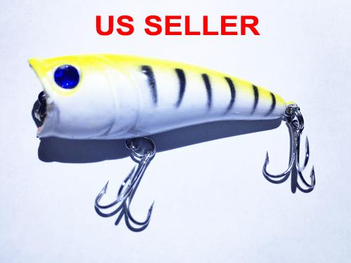 USA Lot PCS Fishing Lures CrankBaits Hooks Baits Tackle Spinner frog shrimp Box 4
