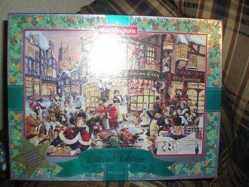 Waddingtons Christmas Jigsaw EBay