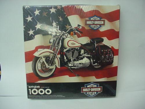 Harley Davidson Puzzle EBay