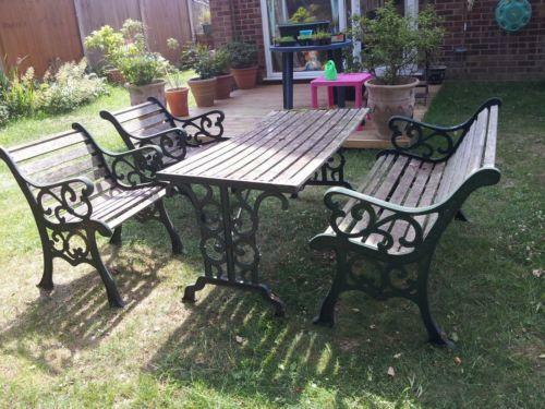wrought iron patio furniture Wrought Iron Garden Furniture | eBay