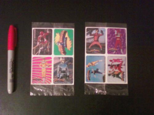 Power Rangers Stickers EBay