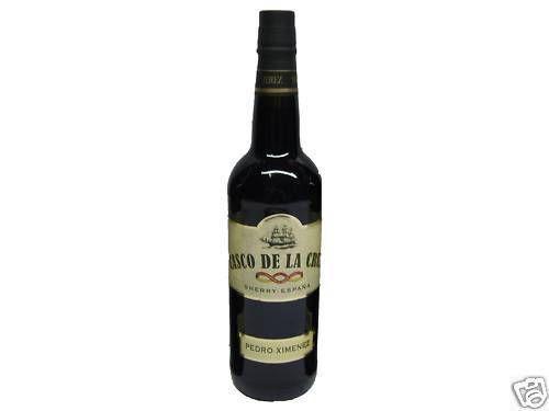 1 Flasche Sherry Pedro Ximenez PX Solera 23 Casco de la Cruz 15 11 Cream süß