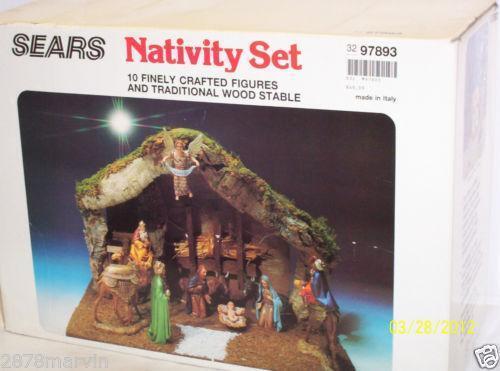 Sears Nativity EBay