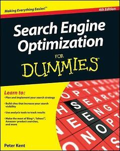 Search Engine Optimization for Dummies by Peter Kent (2010, Paperback)