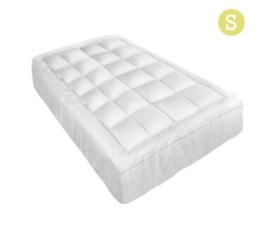 Pillowtop Mattress Topper Memory Resistant Protector Pad Cover S