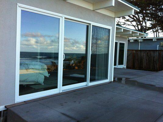sliding glass doors 12 ft in vinyl