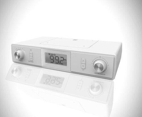 Küchenradio mit Bluetooth Unterbau Radio Werkstattradio Radiowecker