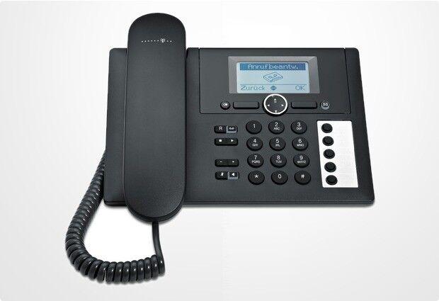 T-SINUS PA415 Telefon mit Anrufbeantworter Analog Tisch Gerät Schnurgebunden