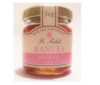Manukahonig Manuka Honig Sortenrein 100% naturreiner Bienenhonig Neuseeland 50g