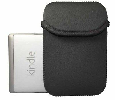 Neopren Sleeve für Amazon Kindle 4 E-Book Reader Tasche XS schwarz Etui Hülle