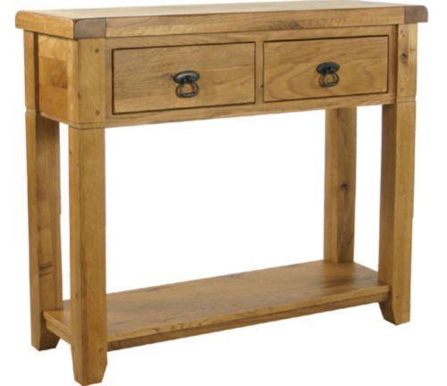 Oak Hallway Table EBay
