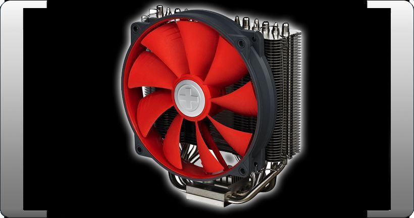 XILENCE M612 PRO MULTI SOCKEL CPU PROZESSOR LÜFTER KÜHLER COOLER AMD & INTEL TOP