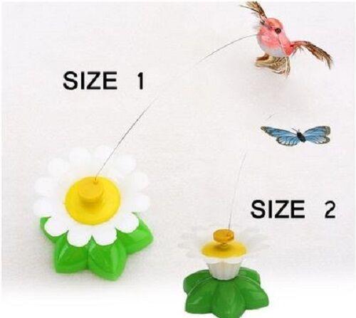 Katzenspielzeug elektrischer Schmetterling Vogel Rotation Haustier