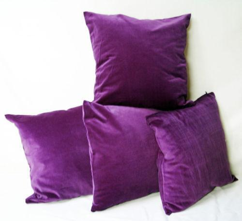 Velvet Cushions Home Decor EBay