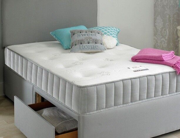 Small Double Bed Memory Foam Mattress Hardly Used