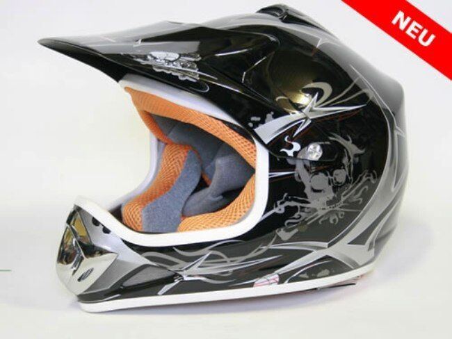 Kinder Cross Schutz Helm Kinderhelm Motorradhelm Quadhelm Crosshelm