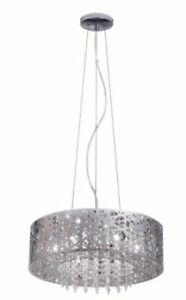 New Mirrored Stainless Steel Chandelier Pendant For