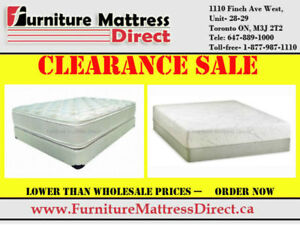 Mattress Liquidation Smooth Top Orthopedic Pillow