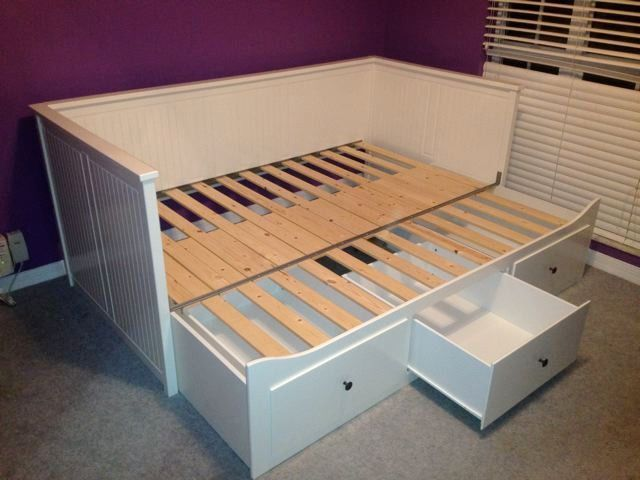 Ikea Hemnes Daybed With 3 Drawers 2 Mattresses