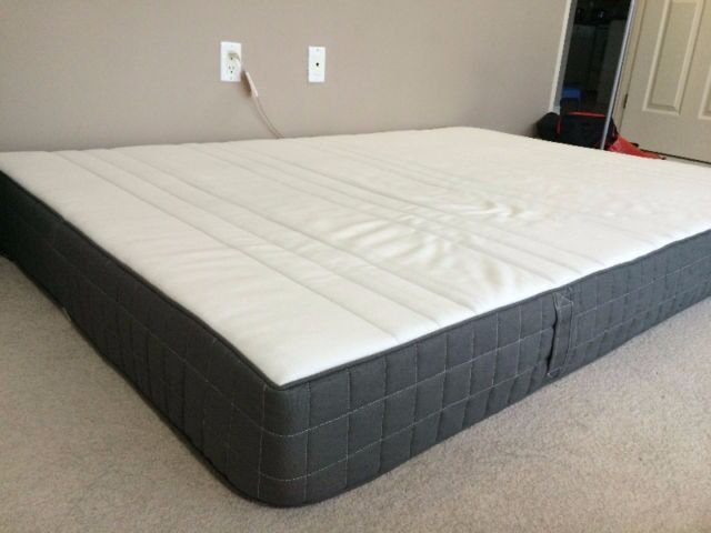 Ikea Morgedal Foam Mattress Firm Dark Grey